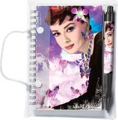 Audrey Hepburn - Sabrina - Pen & Notebook Set
