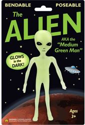 Alien Bendable - Glow-in-the-Dark Alien
