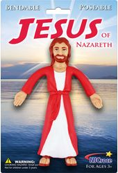 "Jesus of Nazareth - Bendable 6"" Action Figure"