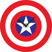 Captain America: Shield Wobble Clock