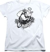 Popeye - I Love Sailor's Anchor And Stars -
