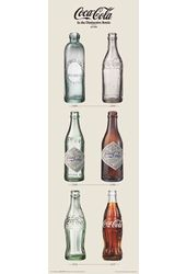"Coca-Cola - Coke Evolution Poster (12"" x 36"")"