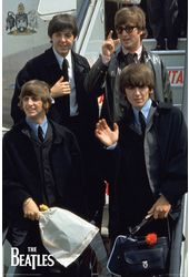 "The Beatles - Plane Poster (24"" x 36"")"