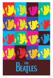 "The Beatles - Warhol Poster (24"" x 36"")"