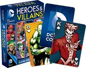 DC Comics - Heroes & Villains - Playing Cards