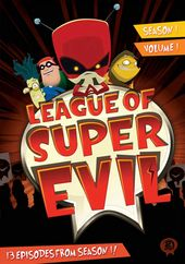 League of Super Evil - Season 1 - Volume 1 (2-DVD)