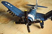 1944 F4U-4 Corsair 1:40 Model Airplane