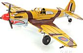 1941 Curtiss Hawk 81A 1:36 Model Airplane