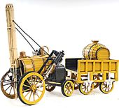 1829 Yellow Stephenson Rocket Model Steam