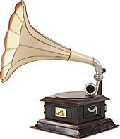 1911 HMV Gramophone Monarch Model V Horn