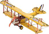 1918 Yellow Curtiss JN-4 1:24 Model Airplane