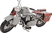 1945 Grey Motorcycle 1:12