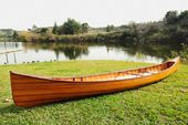 Real Canoe With Ribs - 18 Ft.