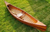 Canoe With Ribs Curved Bow 10Feet