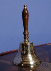 Fire Last Call Hand Bell - 6 Inches