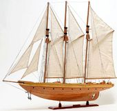Atlantic Yacht Model Sail Boat