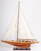 Shamrock Yacht Large Model Sail Boat