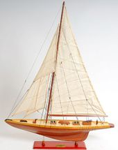 Shamrock Model Sail Boat