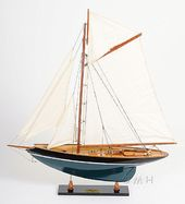 Pen Duick Painted Model Sail Boat
