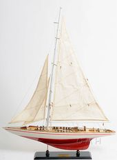 Endeavour Yacht Painted 24 Model Sail Boat