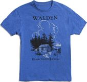 Walden - BLUE - T-shirt