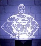 DC Comics -Superman Hero Light