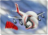 Airplane - Movie Poster - Pillow Case