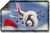 Airplane - Movie Poster - Woven Throw