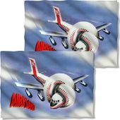 Airplane - Movie Poster (Front & Back) - Pillow