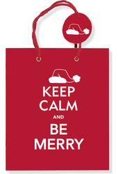 Keep Calm & Be Merry - Gift Bag
