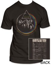 Pink Floyd: World Tour (Fitted Jersey)