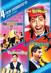 4 Film Favorites: Jerry Lewis (The Ladies Man /