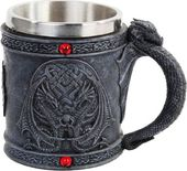 Celtic Dual Winged Dragon Mug