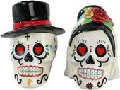 Day of the Dead - Skulls: Wedding - Salt & Pepper