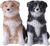 Border Collies - Magnetized Ceramic Salt & Pepper