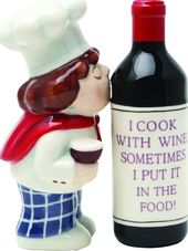 Wine Chef - Salt and Pepper Shakers