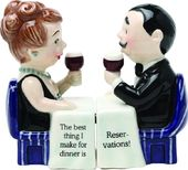 Reservation - Salt & Pepper Shakers