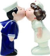 Nurse & Sailor - Salt & Pepper Shakers