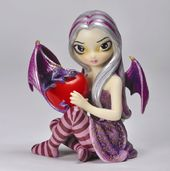 Valentine Dragon Fairy - Jasmine Becket Griffith