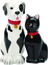 Puppy - Dog & Cat - Good Friends - Magnetized
