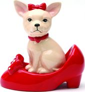 Puppy - Chihuahua In Shoe - Salt & Pepper Shakers