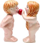 Adam & Eve - Salt & Pepper Shakers