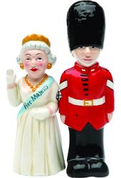 Queen & Guard - Salt & Pepper Shakers