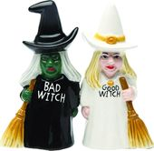 Good Witch & Bad Witch - Magnetized Ceramic Salt