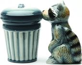 Raccoon & Trash - Salt & Pepper Shakers