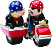 Motorcycle Side Car - Salt and Pepper Shakers