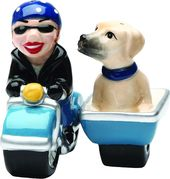 Puppy - Dog Gone Side Car - Salt and Pepper