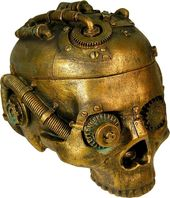 Steampunk - Skull Box