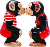 Kissing Chimps - Salt & Pepper Shakers