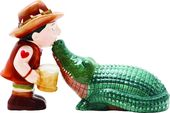 Croc Hunter - Salt and Pepper Shakers